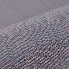 Denver - Purple - Denim blue and light grey coloured 100% Trevira CS threads woven into an otherwise unpatterned fabric