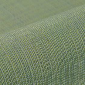 Denver - Green1 - Lime green and light grey coloured fabric woven from threads made entirely from Trevira CS