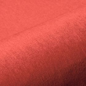 Trevira CS Velours - Red Orange (2505) - Bright tomato red coloured fabric made from 100% Trevira CS