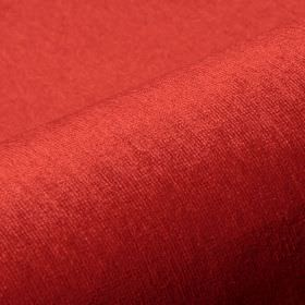 Trevira CS Velours - Red (3226) - Bright pepper red coloured fabric made from 100% Trevira CS