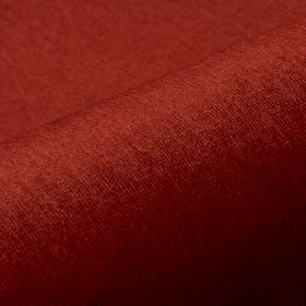 Trevira CS Velours - Pink Brown Red - Dark brick red-orange coloured fabric made from unpatterned 100% Trevira CS