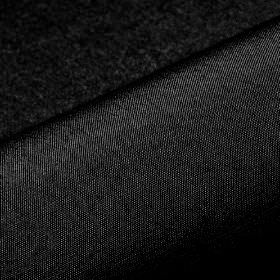 Banda - Black (48) - A few white threads showing through an otherwise plain jet black coloured 100% Trevira CS fabric