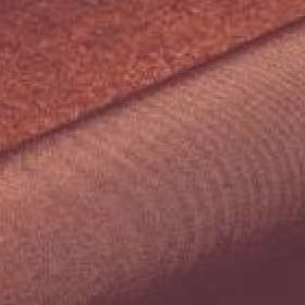 Banda - Brown (57) - Fabric blended from 100% Trevira CS threads in burnt maroon and golden cream colours