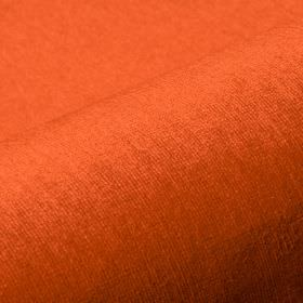 Trevira CS Velours - Orange (8365) - Unpatterned fabric made from fiery orange coloured 100% Trevira CS
