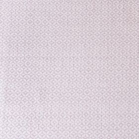 Portia - Chalk Pink - Linen, cotton and nylon blend fabric with a small, delicate, subtle geometric pattern in similar light shades of grey
