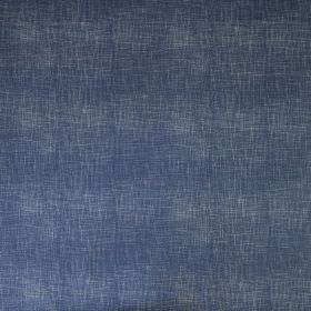 Weave - Ink Blue - Navy blue coloured linen cotton union fabric featuring some light grey coloured flecks