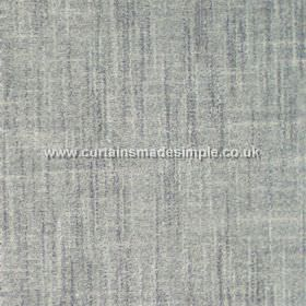 Terracota - 19 - Blue-grey cotton-polyester blend fabric which features a few darker blue streaks and a few lighter grey-white streaks