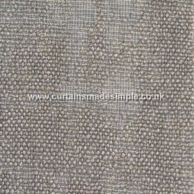 Jarapa - 04 - Patterned, textured fabric made from a blend of linen, jute and cotton in white, green-grey and pale grey