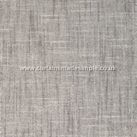 Terracota - 01 - Patchy fabric made from cotton and polyester in several shades of grey, including a few lighter off-white streaks