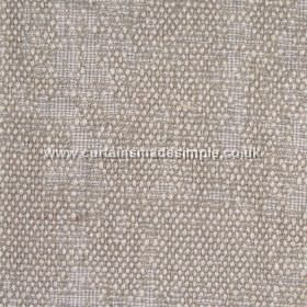 Jarapa - 11 - Various shades of grey and white making up a linen, jute and cotton blend fabric, partially covered with bouclé texture