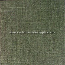 Terracota - 03 - Forest green coloured cotton and polyester blend fabric with some darker and some lighter streaks