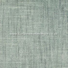 Terracota - 13 - Fabric made from cotton and polyester in a colour which is a blend of duck egg blue and grey, with some white streaks