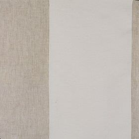 Illetes - Formentera - Very wide stripes of light grey and off-white making up this linen fabric's pattern