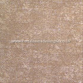 Galapago - 01 - Subtly patterned, caramel and cream coloured blended fabric which almost has a mottled effect