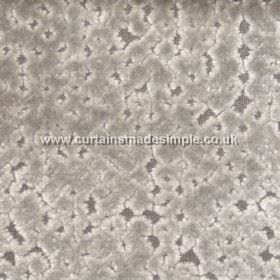 Atlantis - 09 - Blotchy fabric made from viscose in three different shades of silver-grey