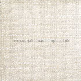 Oceanic - 06 - Off-white coloured fabric blended from polyester, cotton and viscose, with a slight bobbled texture