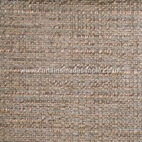 Oceanic - 01 - Iron grey and coppery brown shades woven into a fabric made from polyester, cotton and viscose