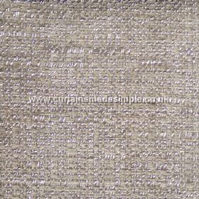 Oceanic - 19 - Light grey and purple coloured polyester, cotton and viscose blend fabric
