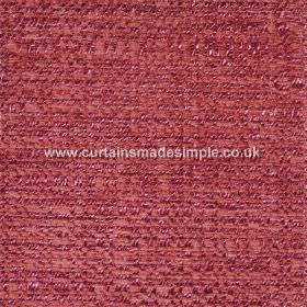 Oceanic - 02 - Polyester, cotton and viscose fabric which has been woven together to include several different shades of red