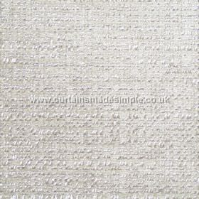 Oceanic - 09 - Paper white coloured fabric made from polyester, cotton and viscose, with a slight bobbled texture