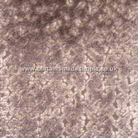 Atlantis - 19 - Purple, creamy pink and brown-grey coloured fabric made from viscose with a blotchy design