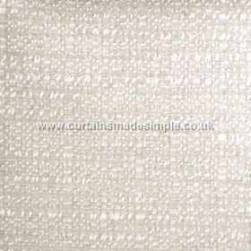 Oceanic - 07 - Subtle white texturing on a pale grey fabric made from polyester, cotton and viscose
