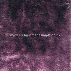 Murano - 12 - Purple coloured viscose fabric which features some lighter lilac and some darker indigo coloured patches