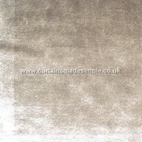 Murano - 01 - Silver coloured fabric made from 100% viscose, with a subtle texture resulting in white patches