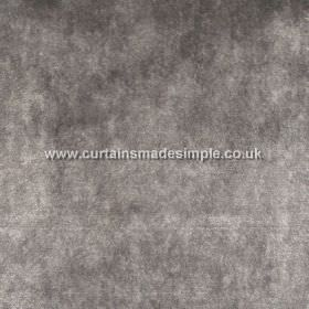 Touch - 19 - Patchy, mottled fabric made from viscose in dark grey and white colours