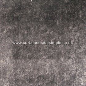 Touch - 29 - Dark grey and light grey making up a mottled, patchy effect on fabric made from viscose