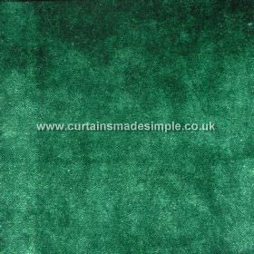 Touch - 03 - Slightly mottled fabric made from 100% viscose in a rich, emerald green