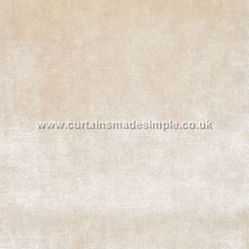 Touch - 06 - White and light wafer coloured mottling covering fabric made from 100% viscose