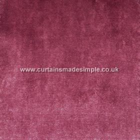 Touch - 02 - Slightly patchy, mottled viscose fabric in a dark raspberry colour