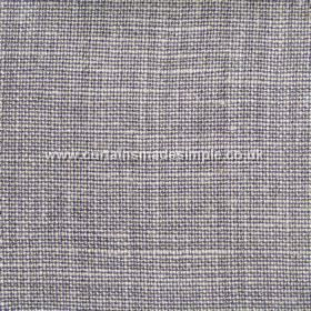 Victoria - 09 - Linen fabric woven from threads in light shades of grey, purple and white