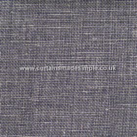 Victoria - 04 - Dark grey, purple and white coloured woven linen fabric