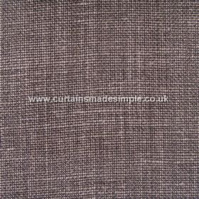 Victoria - 19 - Dark brown coloured linen fabric featuring some white threads