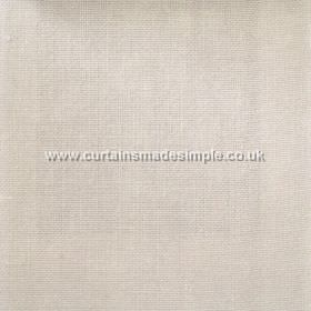 Khan - 06 - Linen fabric woven in a very pale shade of beige, featuring a strip that is ever so slightly darker in colour