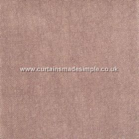 Khan - 22 - Fabric made from linen in a pinkish shade of brown