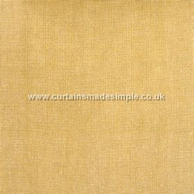 Khan - 05 - Mustard coloured woven linen fabric