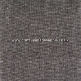 Khan - 00 - Battleship grey linen fabric made using a few threads in a slightly lighter shade of grey