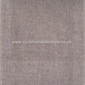 Khan - 09 - Mid-grey coloured fabric made from linen which has a very subtle lilac tinge