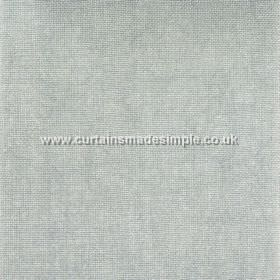 Khan - 04 - 100% linen fabric in a slightly dusky shade of duck egg blue
