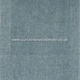 Khan - 14 - Dusky blue coloured fabric woven entirely from linen