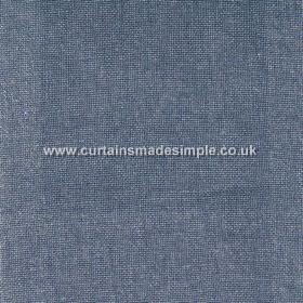 Khan - 24 - Fabric made from denim blue coloured linen