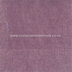Khan - 19 - Fabric made entirely from linen in a light aubergine colour