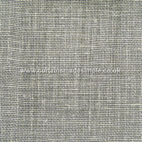Victoria - 03 - Woven fabric made from linen in white and dark green-grey