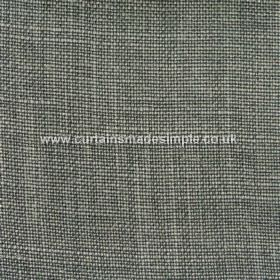 Victoria - 23 - Threads in dark and light shades of grey woven into fabric made entirely from linen