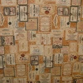French Wine Cellar - Vintage Linen -