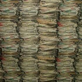 Stacked Newspapers - Multi Coloured -