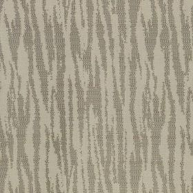 Malindi - Biscuit - Two different shades of steel grey making up a simple animal stripe design on polyester and viscose blend fabric